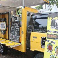 Bread In Black ~ Usaha Food Truck Aneka Olahan Berbahan Dasar Roti Hitam