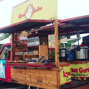 Heider Paris ~ Omset Rp 60 Juta dari Usaha Food Truck Ayam Galau Konsep Klasik