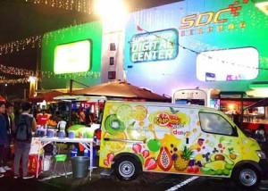 Kaaramel Juice ~ Hadirkan 200 Jenis Fusion Juice Dengan Food Truck