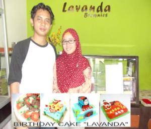 Lavanda Brownies ~ Sukses Usaha Brownies Durian Hingga Ribuan Tiap Bulan