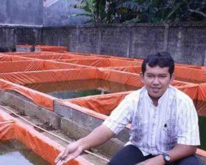 Bagaimana Teknik Budidaya Lele Sangkuriang di Kolam Terpal ala Fauzan Hangriawan?