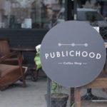 Publichood Coffee Shop ~ Usaha Café Konsep Industrial  Minimalis