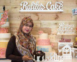 Noor Rafita, Pemilik Usaha Rafita's Cake ~ Booming Lapis Nangka Hasilkan Puluhan Juta