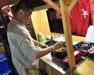 Andre Budiman, Pemilik Kedai Oishi ~ Sukses Usaha Ramen Kaki Lima